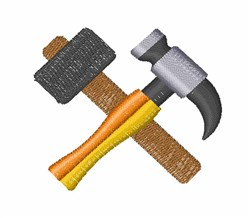 Hammers embroidery design