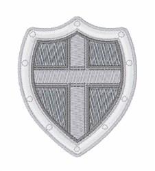 Shield embroidery design