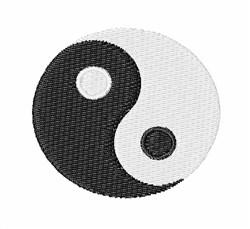 Yin Yang embroidery design