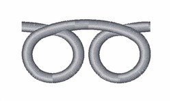 Curly Loop embroidery design