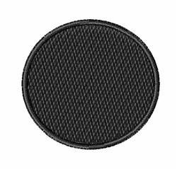 Black Circle embroidery design