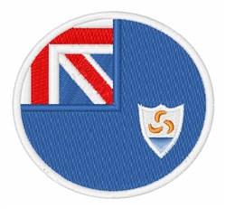 Anguilla Flag embroidery design