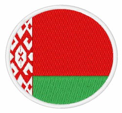 Belarus Flag embroidery design