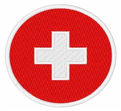 Switzerland Neutral Flag embroidery design