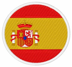 Ceuta, Melilla Flag embroidery design
