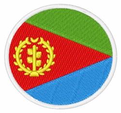 Eritrea Flag embroidery design