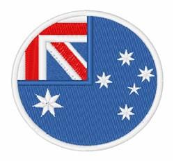 Heard Island And Mcdonald Islands Flag embroidery design