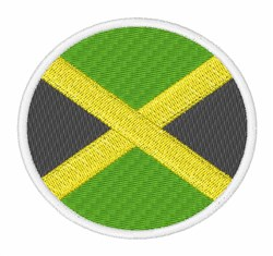 Jamaica Flag embroidery design