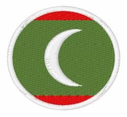 Maldives Flag embroidery design