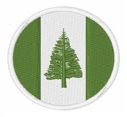 Norfolk Island Flag embroidery design