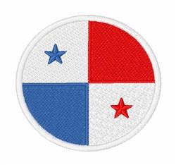 Panama Flag embroidery design