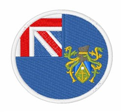 Pitcairn Flag embroidery design