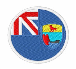 Saint Helena Flag embroidery design