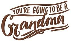 A Grandma embroidery design