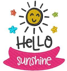 Hello Sunshine! embroidery design