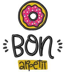 Bon Appetit! embroidery design
