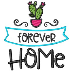 Forever Home embroidery design