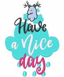 Have A Nice Day embroidery design
