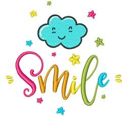 Smile! embroidery design
