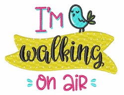Walking On Air embroidery design