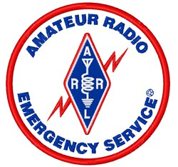 Amateur Radio Emergency Service embroidery design