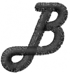 Mad Font B embroidery design