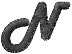 Mad Font N embroidery design