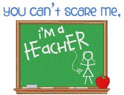 Im A Teacher embroidery design