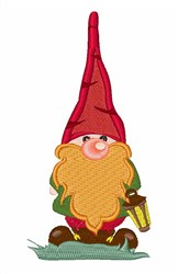 The Gnome embroidery design