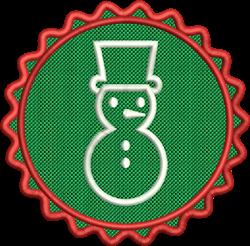 FSL Snowman embroidery design