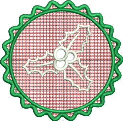 FSL Holly embroidery design