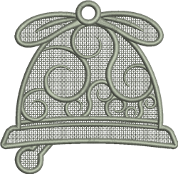 FSL Christmas Bell embroidery design