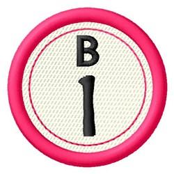 Bingo B1 embroidery design