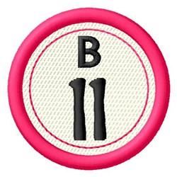 Bingo B11 embroidery design