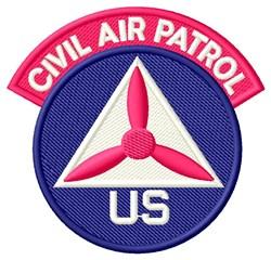 US Civil Air Patrol embroidery design