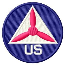 US CAP embroidery design