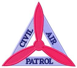 Civil Air Triangle embroidery design