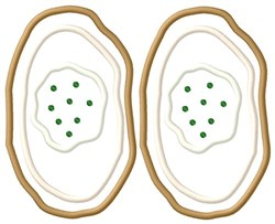 Baked Potatoes embroidery design