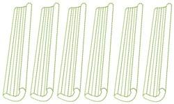Stalks Of Celery embroidery design