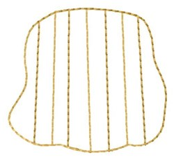Ripple Chip embroidery design