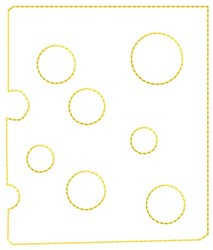 Swiss Cheese embroidery design