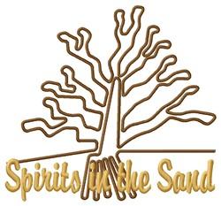 Spirits Nazca Lines embroidery design