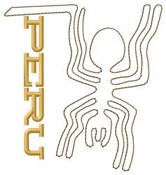 Nazca Lines Peru embroidery design