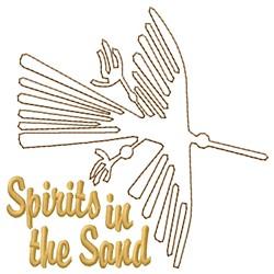 Condor Nazca Lines Spirits embroidery design