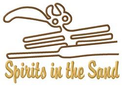 Spirit Nazca Lines embroidery design