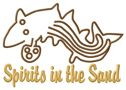 Whale Spirit Nazca Lines embroidery design