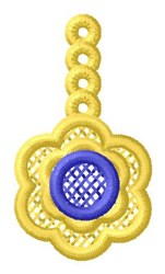 Flower Ornament embroidery design