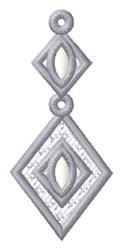 Diamond Drop embroidery design