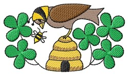 Busy Bees embroidery design