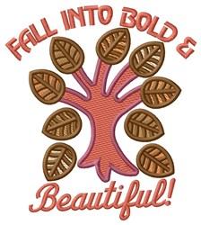 Fall Foliage embroidery design